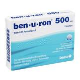 Produktbild Ben-U-Ron 500 mg Tabletten