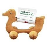 Produktbild Massageroller Holz 4 Rollen