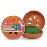 Produktbild Antimücken Spiralen mit Tontopf