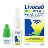 Produktbild Livocab direkt Kombi 4 ml Augentropfen + 5 ml Nasenspray