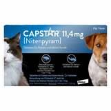 Produktbild Capstar 11,4 mg für Katzen und kleine Hunde Tabletten