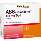 Produktbild ASS Ratiopharm 100 mg TAH Tabletten