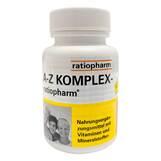 Produktbild A-Z Komplex ratiopharm Tabletten