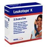 Produktbild Leukotape K 2,5cm blau
