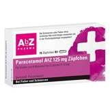Produktbild Paracetamol AbZ 125 mg Zäpfchen
