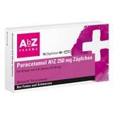 Produktbild Paracetamol AbZ 250 mg Zäpfchen