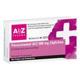 Produktbild Paracetamol AbZ 500 mg Zäpfchen