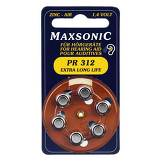 Produktbild Batterien für Hörgeräte Maxsonic PR312