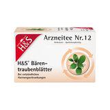 Produktbild H&S Bärentraubentee Filterbeutel