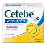 Produktbild Cetebe Abwehr plus Vitamin C + Vitamin D3 + Zink Kapseln