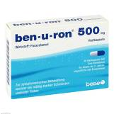 Produktbild Ben-U-Ron 500 mg Kapseln