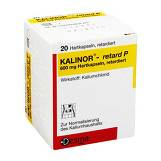Produktbild Kalinor retard P 600 mg Hartkapseln