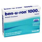 Produktbild Ben-U-Ron 1000 mg Tabletten