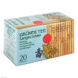 Produktbild Grüner Tee + Ingwer + Ginseng Filterbeutel