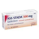 Produktbild ASS STADA 500 mg Tabletten