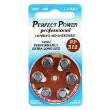 Produktbild Batterien für Hörgeräte Power PP 312