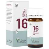Produktbild Biochemie Pflüger 16 Lithium chloratum D 6 Tabletten