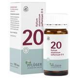 Produktbild Biochemie Pflüger 20 Kalium aluminium sulfuricum D 6 Tabletten