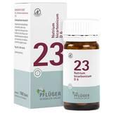 Produktbild Biochemie Pflüger 23 Natrium bicarbon.D 6 Tabletten