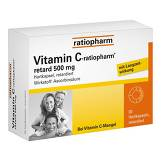 Produktbild Vitamin C ratiopharm retard 500 mg Kapseln