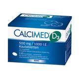 Produktbild Calcimed D3 500 mg / 1000 I.E. Kautabletten