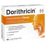 Produktbild Dorithricin Halstabletten Classic bei Halsschmerzen