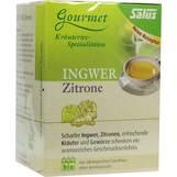 Produktbild Ingwer Zitrone Tee Salus Filterbeutel