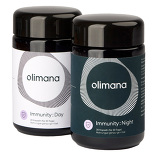 Produktbild Olimana Immunsystem Kapseln Tag & Nacht