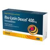 Produktbild Ibu-Lysin Dexcel 400 mg Filmtabletten