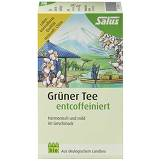 Produktbild Grüner Tee entcoffeiniert bio Salus Filterbeutel
