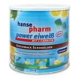 Produktbild Hansepharm Power Eiweiß plus Schoko Pulver