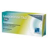 Produktbild Levocetirizin TAD 5 mg Filmtabletten