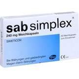 Produktbild Sab simplex 240 mg Weichkapseln
