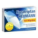Produktbild Naratriptan Heumann bei Migräne 2,5 mg Filmtabletten