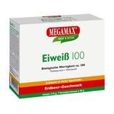 Produktbild Eiweiss 100 Erdbeer Megamax Pulver