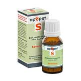 Produktbild Apopet S sensitive Blütenessenzen n.Dr. Bach Globuli