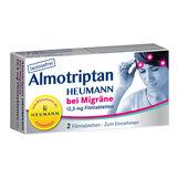 Produktbild Almotriptan Heumann bei Migräne 12,5 mg Filmtabletten