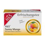 Produktbild H&S Erfrischungstee Sunny Mango Filterbeutel