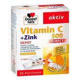Produktbild Doppelherz Vitamin C 500 + Zink Depot Direct Pellets