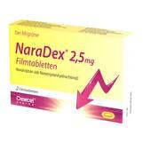 Produktbild Naradex 2,5 mg Filmtabletten
