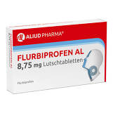Produktbild Flurbiprofen AL 8,75 mg Lutschtabletten