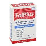 Produktbild Folplus + D3 Tabletten