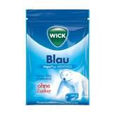 Produktbild WICK BLAU Menthol Bonbons ohne Zucker Beutel
