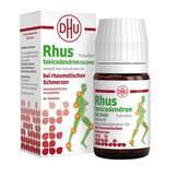 Produktbild Rhus toxicodendron D6 DHU bei rheumatischen Schmerzen Tabletten