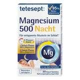 Produktbild Tetesept Magnesium 500 Nacht Tabletten