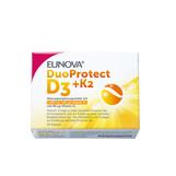 Produktbild Eunova Duoprotect D3 + K2 1000 I.E. / 80 µg Kapseln