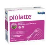 Produktbild Piulatte Humana Portionsbeutel