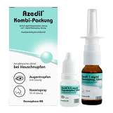Produktbild Azedil Kombi-Packung 0,5mg / ml AT 1mg / ml Nasenspray