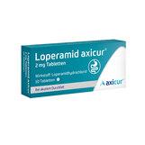 Produktbild Loperamid axicur 2 mg Tabletten
