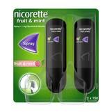 Produktbild Nicorette Fruit & Mint Spray 1 mg / Sprühstoß